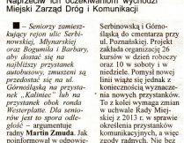 Więcej o Autobusy wrócą na ul. Serbinowską w Kaliszu?